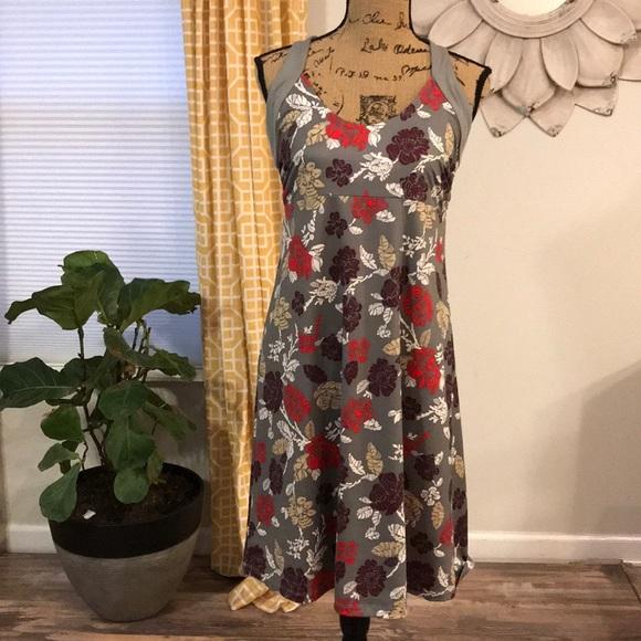 0b82ca1af1d Patagonia sz L Magnolia Spring gray floral dress. M 5c5f5cdb194dadd621d0cb10